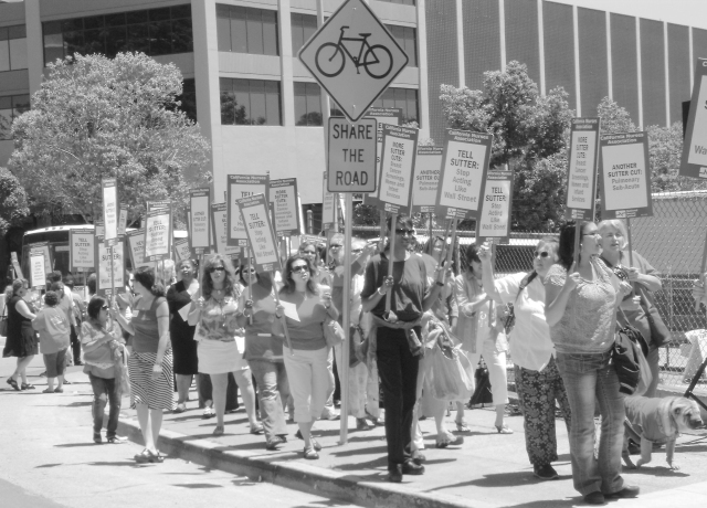 Sutter nurses' strike