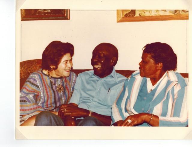 Raya Dunayevskaya, Charles Denby, and Ethel Dunbar (Effie Owens)
