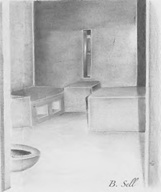 Art by Billy Sell, one of the hunger strikers at Corcoran State Prison, who died during the 2013 hunger strike. See http://www.prisonerexpress.org/anthology/Anthology_9.pdf
