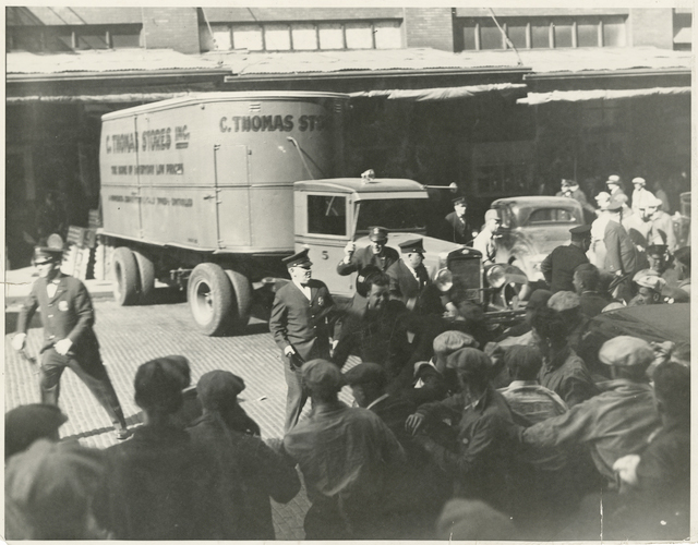 UPS drivers' solidarity in 2014 recalls the Minneapolis general strike which ended on May 25, 1934, with recognition of the Teamsters.